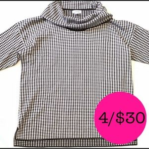 Calvin Klein Long sleeved Turtle Neck Sweater Top